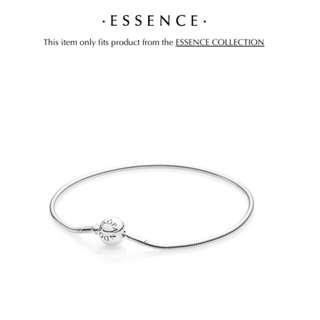 Pandora essence silver bracelet with bonus charm