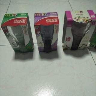 Coca Cola Contour Glass