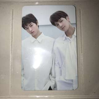 the boyz 1st mini album - juyeon & younghoon unit pc