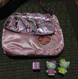 Hello Kitty pouch with Game