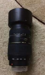 Tamron AF 70-300mm F/4-5.6 LD Di macro lense