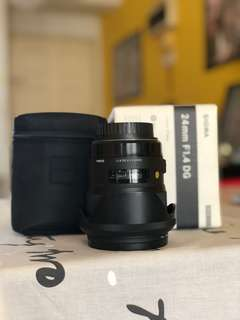 Sigma ART 24mm 1.4 for CANON