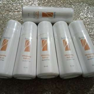 Scion whitening roll-on alcohol free 75 ml.