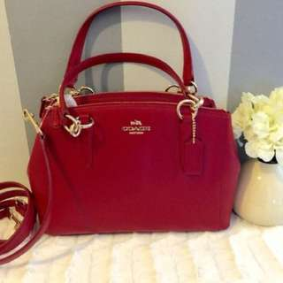AUTHENTIC COACH CHRISTIE CARRYALL
