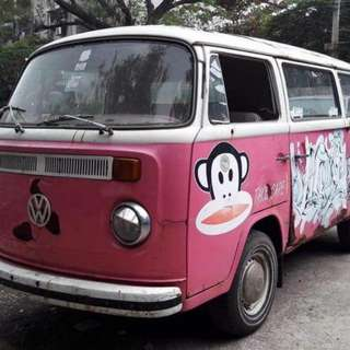 VW Kombi Thai Regn