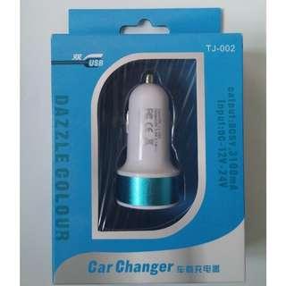 ★$10/個 全新2 USB 汽車手機充電器★