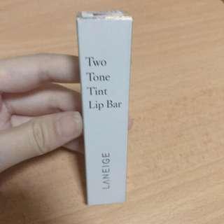 Laneige Two Tone Lip Bar in Lollipop Red