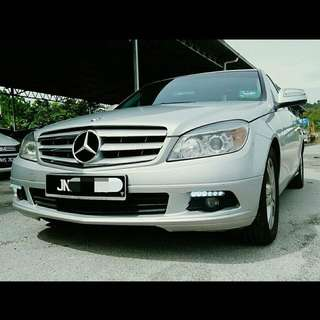 SAMBUNG BAYAR/CONTINUE LOAN  MERCEDES BENZ C200 YEAR 2008/2012 MONTHLY RM 2250 BALANCE 4 YEARS + ROADTAX VALID TIPTOP CONDITION  DP KLIK wasap.my/60133524312/c200
