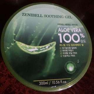💯aloe vera soothing gel