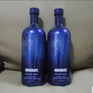 ABSOLUT VODKA *ORIGINAL LIMITED EDITION BOTTLE*