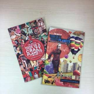 (Bundle) This Is A Crazy Planets by Lourd de Veyra Book 1 & 2
