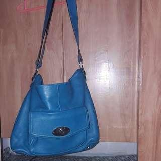 Shoulder bag leatherette