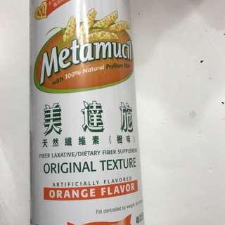 美達施橙味天然纖維素