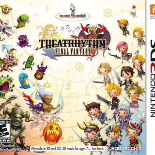 3DS Final Fantasy Theatrhythm