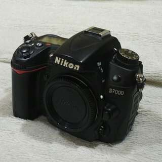 Nikon d7000 body for sale.