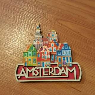 Fridge Magnet Amsterdam