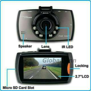 "Kamera mobol 2.7"" full HD 1080P / Car DVR Camera Recorder"