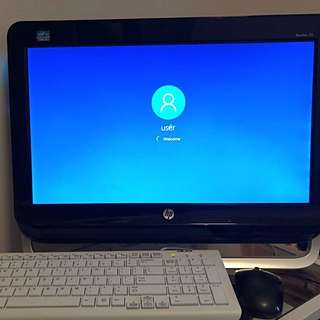 HP Pavilion 20 - All in One PC