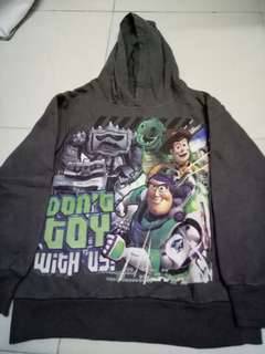 DISNEY TOY STORY hooded