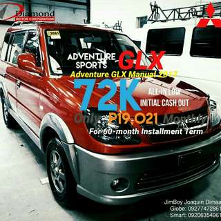 Mitsubishi Adventure GLX LOW DOWN Promo SURE Approval NO Minimum Requirements DIAL NOW! 09277472861 or 09206354961