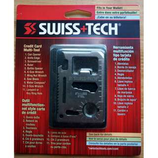 Swiss + Tech Credit Card Multi-Tool