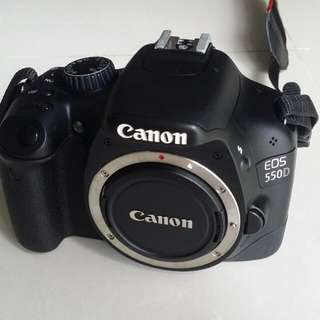 Canon 550D w EFS 17-55mm F2.8 IS USM Lens
