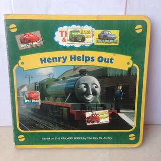 Board Book Thomas and Friends - Henry Help Out
