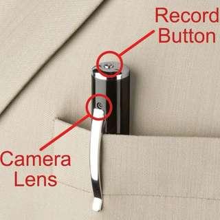 Hidden Pinhole Spy Camcorder Cam
