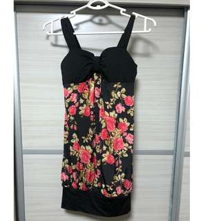 floral dress sleeveless