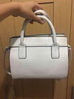 Stradivarius white slingbag