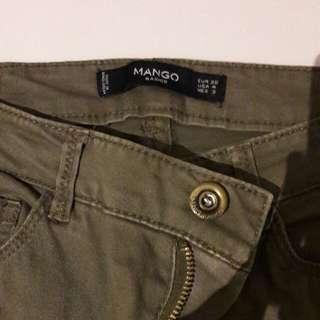 Mango Army colored Pants