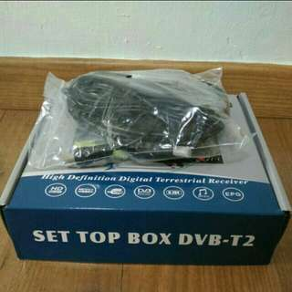 Digital TV Setup Box c/w Antenna & HDMI cable
