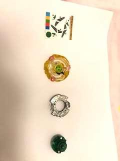 爆旋陀螺B101 06 黃色圓環撒但5.Gr
