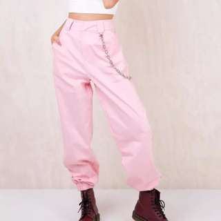 I Am Gia Pink Cobain Pants Size XS