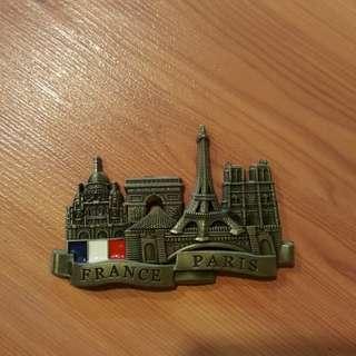 Fridge Magnet Paris