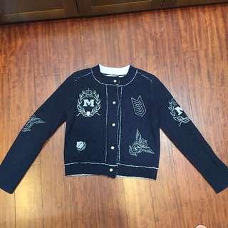🚚 韓國製 高級針織毛線外套 正式 皇家風格 針織衫