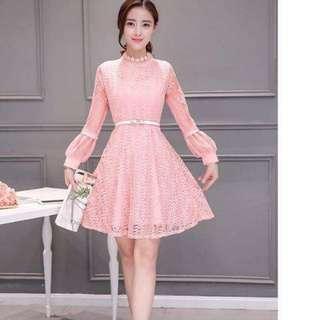 Lace dress fits S-L