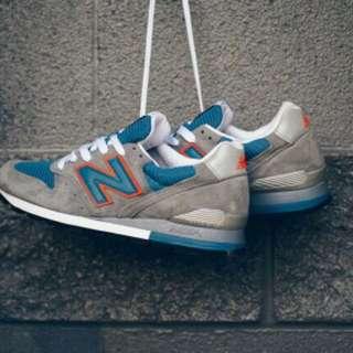 🚚 New Balance M996 CSBO 灰藍色/橙色 美製全新品