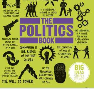 The Politics Book by DK Publishing