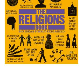 The Religions Book by DK Publishing