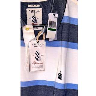 Nautica Heritage Spinnaker Collared Shirt