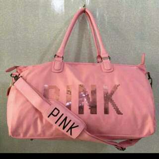 Pink travel/gym bag