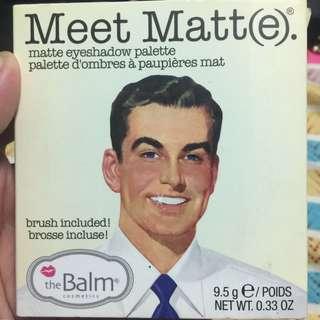 Meet Matte(e) Eyeshadow Palette