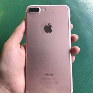 iPhone 7 Plus Rosegold 128gb