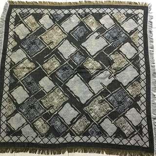 Silk viscose square