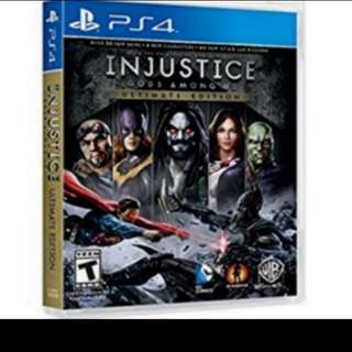 PS4 Game: Injustice: Gods Among Us - Ultimate Edition