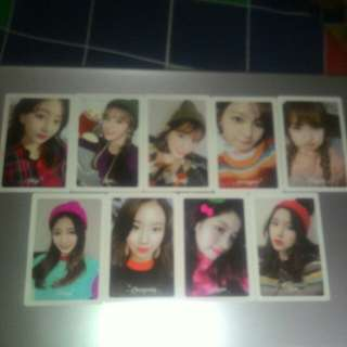 Twice Photocard - Merry & Happy Preorder Benefits
