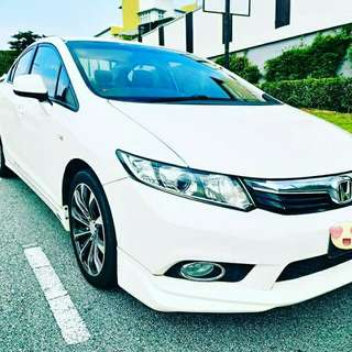 HONDA CIVIC FB SBUNG BAYAR/CONTINUE LOAN