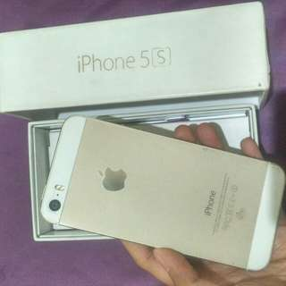Iphone 5s 8GB Gold second