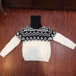 🚚 Zara 套頭粗針織 毛衣